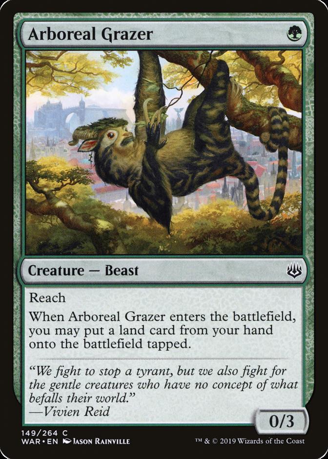 Arboreal Grazer [WAR]