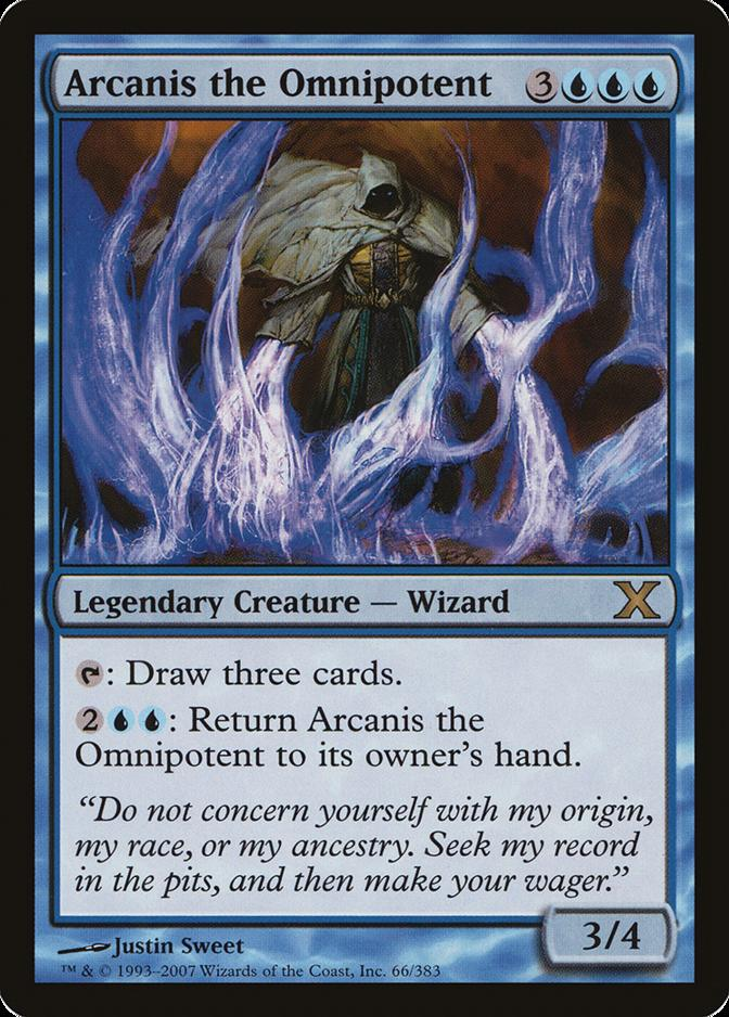 Arcanis the Omnipotent [10E] (F)