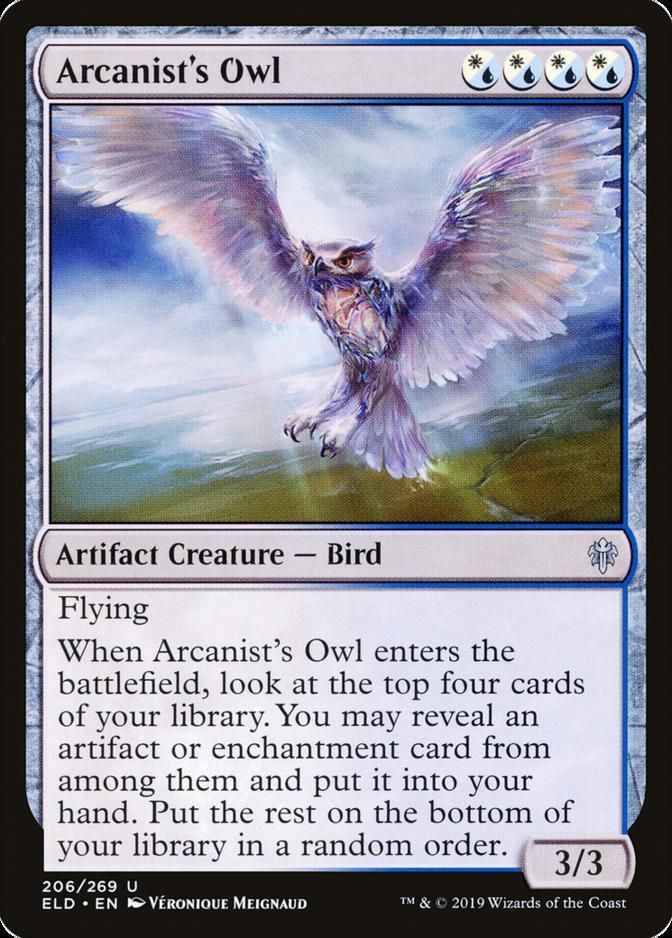 Arcanist's Owl [ELD]
