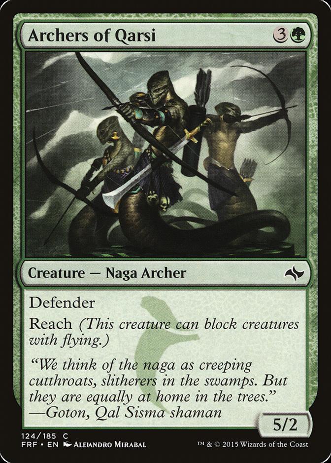 Archers of Qarsi [FRF]