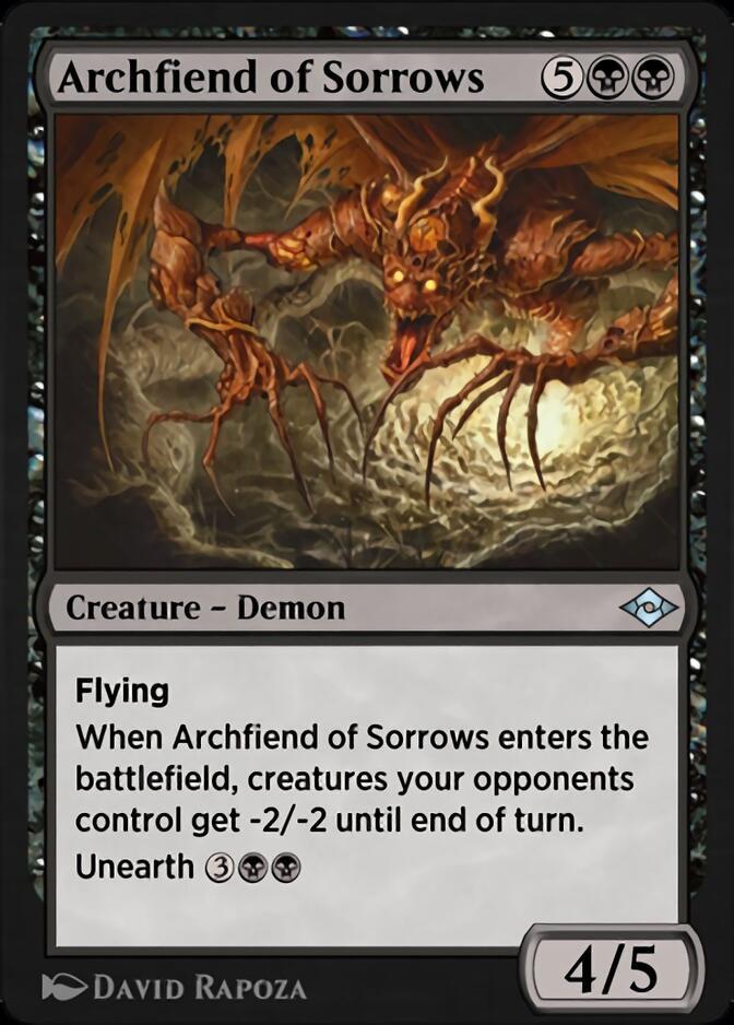 Archfiend of Sorrows [J21]