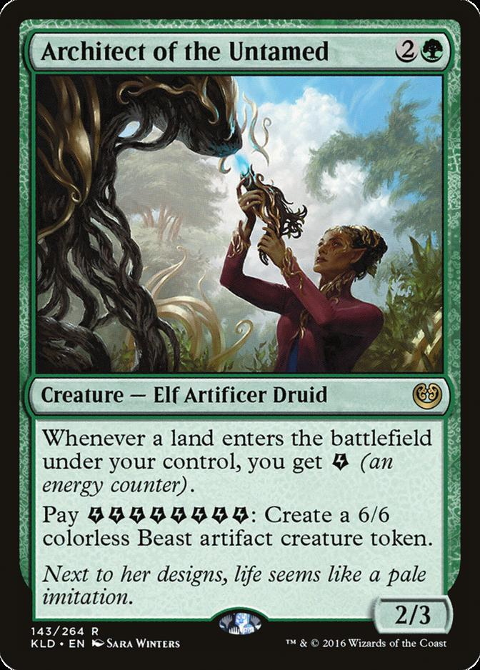 Architect of the Untamed [KLD]