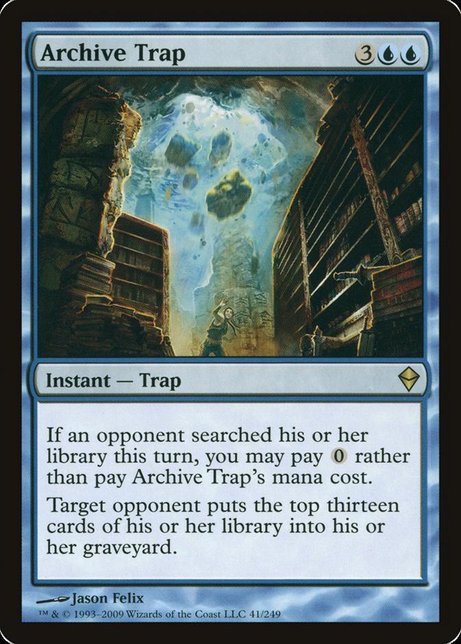 Archive Trap [ZEN] (F)