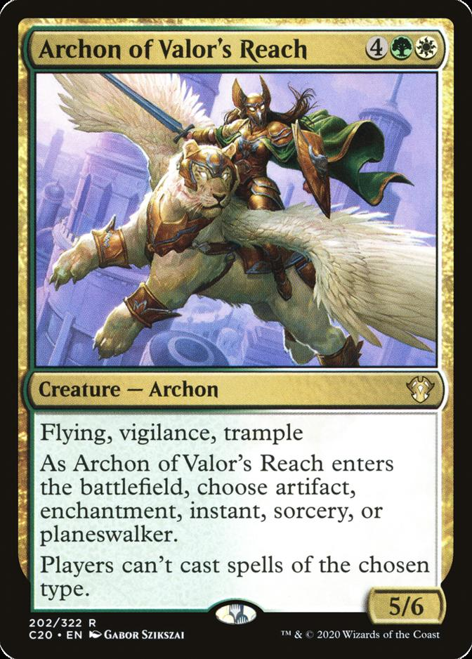 Archon of Valor's Reach [C20]