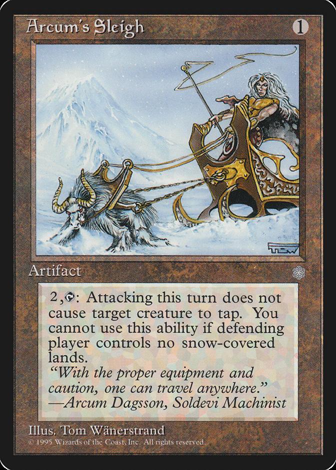 Arcum's Sleigh [ICE]