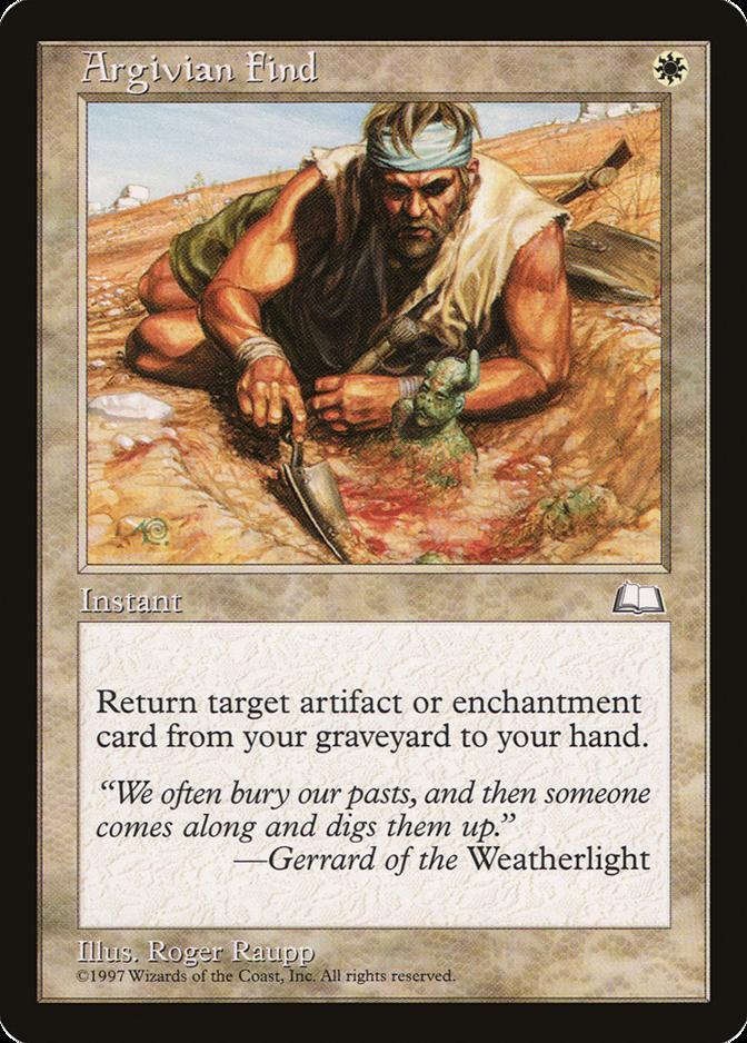 Argivian Find [WL]