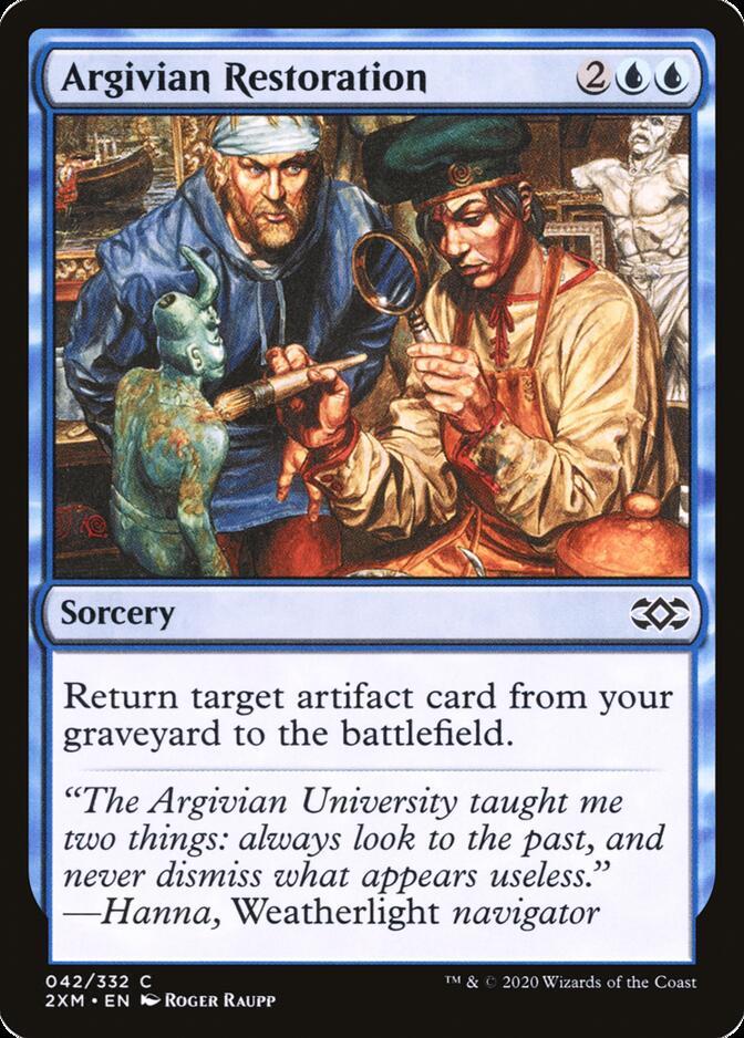 Argivian Restoration [2XM]