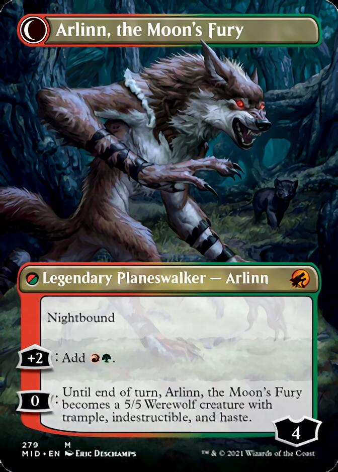 Arlinn, the Moon's Fury <borderless> [MID]