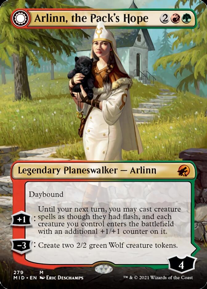 Arlinn, the Pack's Hope <borderless> [MID]