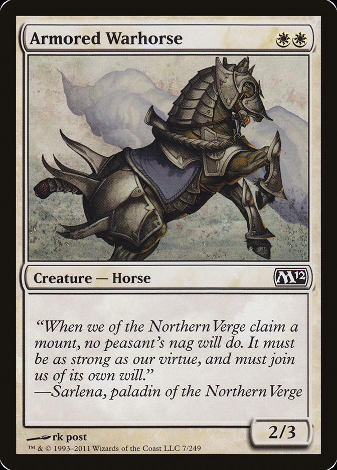 Armored Warhorse [M12] (F)