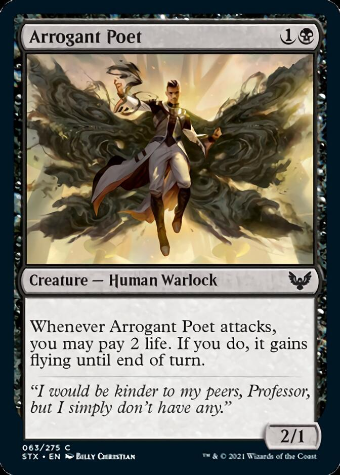 Arrogant Poet [STX]