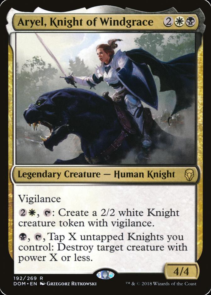 Aryel, Knight of Windgrace [DOM]
