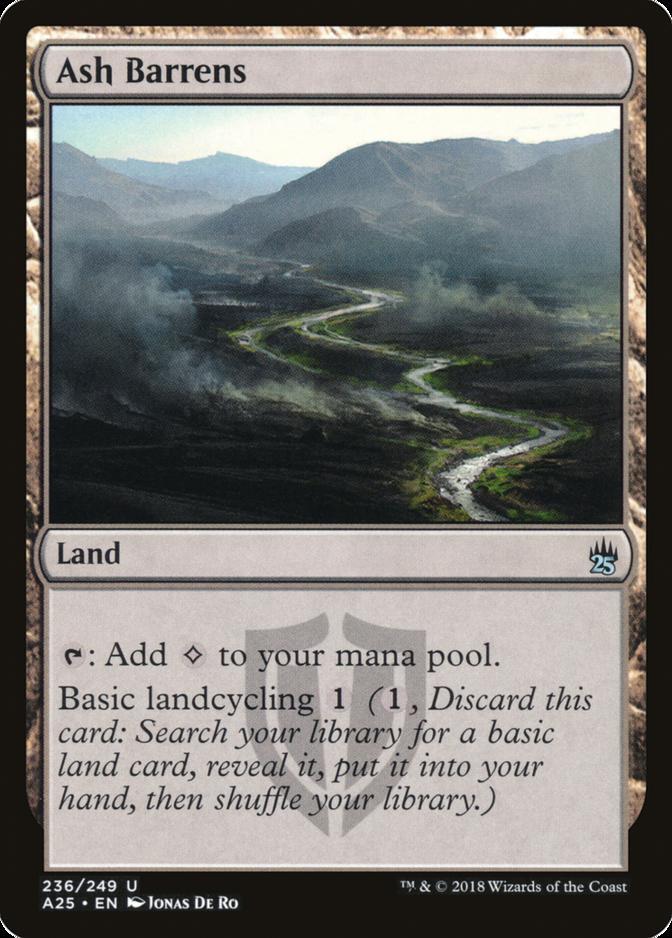Ash Barrens [A25]