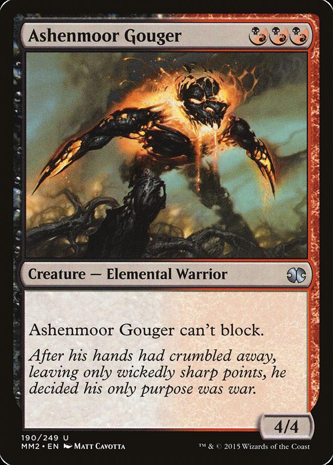 Ashenmoor Gouger [MM2] (F)