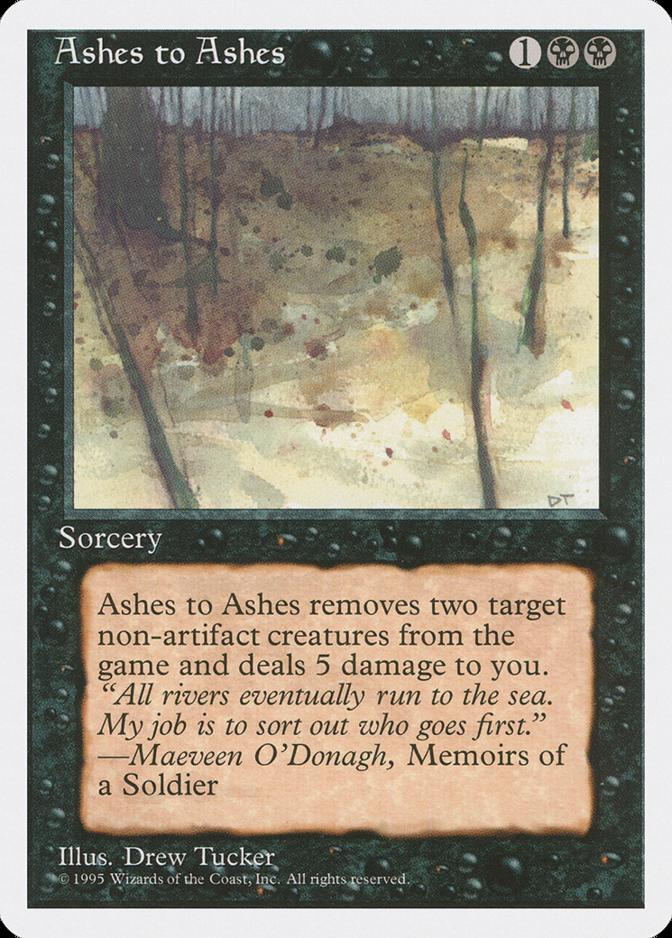 Ashes to Ashes [4ED]