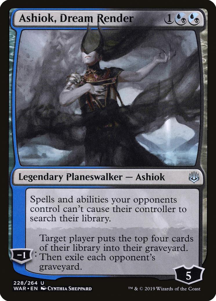 Ashiok, Dream Render [WAR]