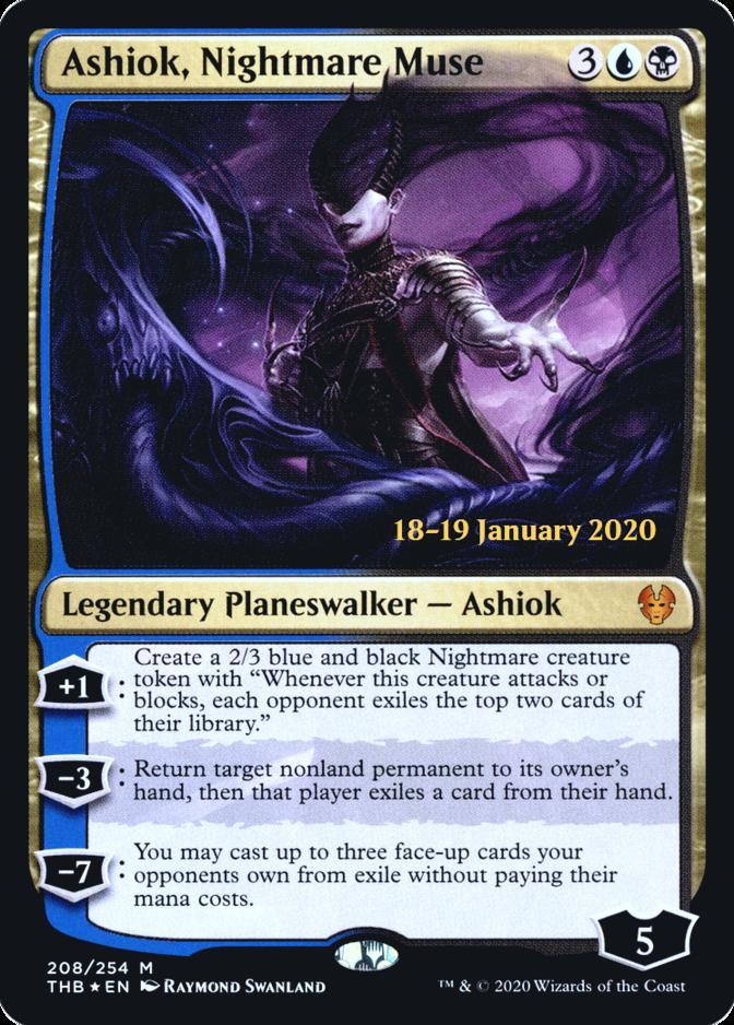 Ashiok, Nightmare Muse [PRM-PRE] (F)