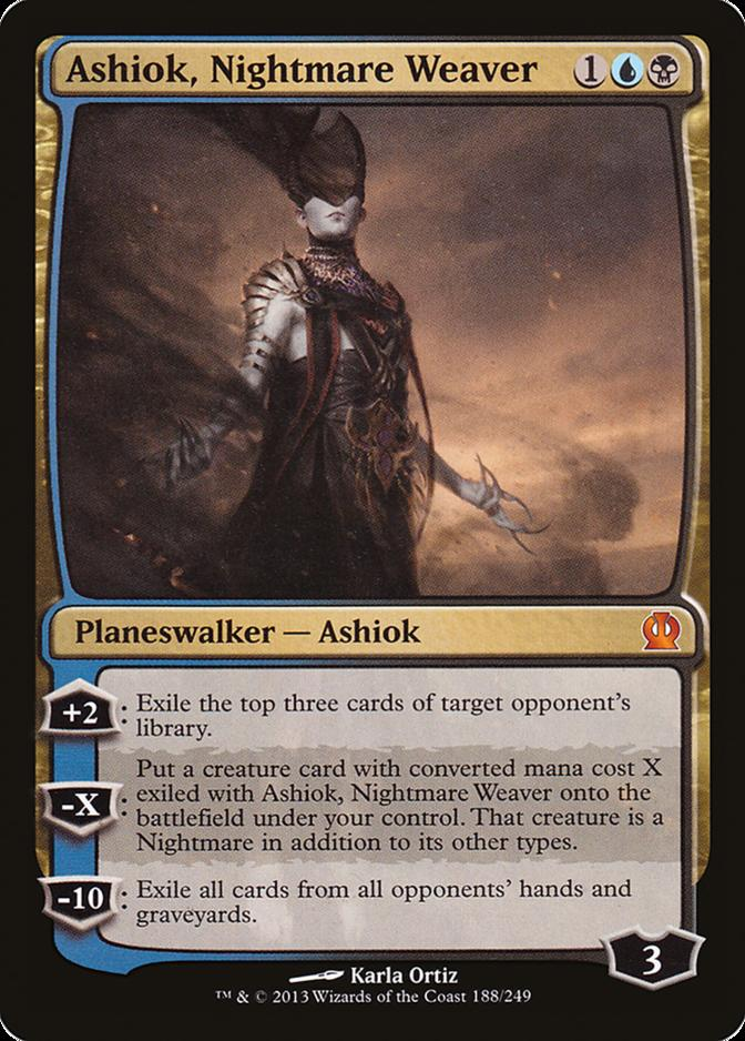 Ashiok, Nightmare Weaver [THS]