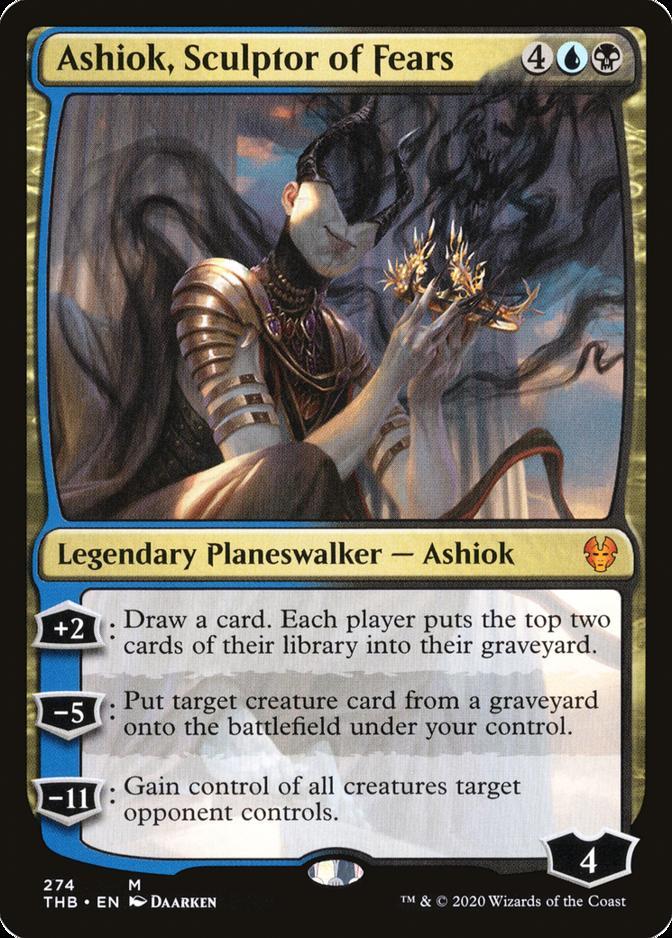 Ashiok, Sculptor of Fears [PTHB]