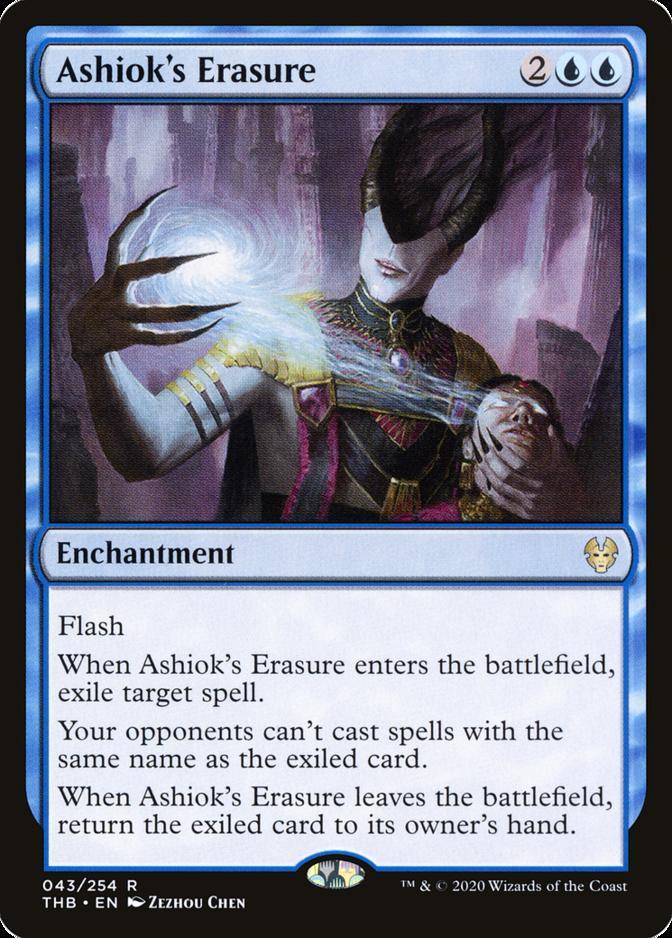 Ashiok's Erasure [THB]