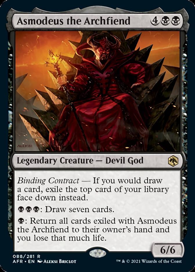 Asmodeus the Archfiend [AFR]