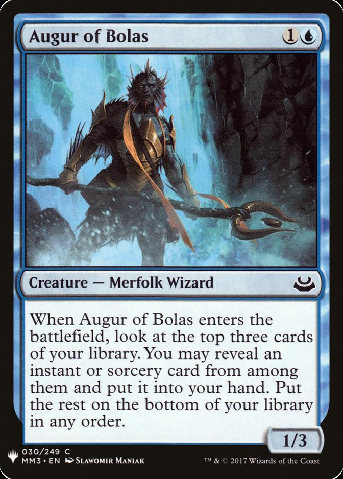 Augur of Bolas [MB1]