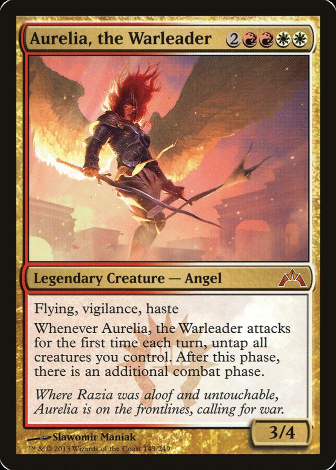 Aurelia, the Warleader [GTC]