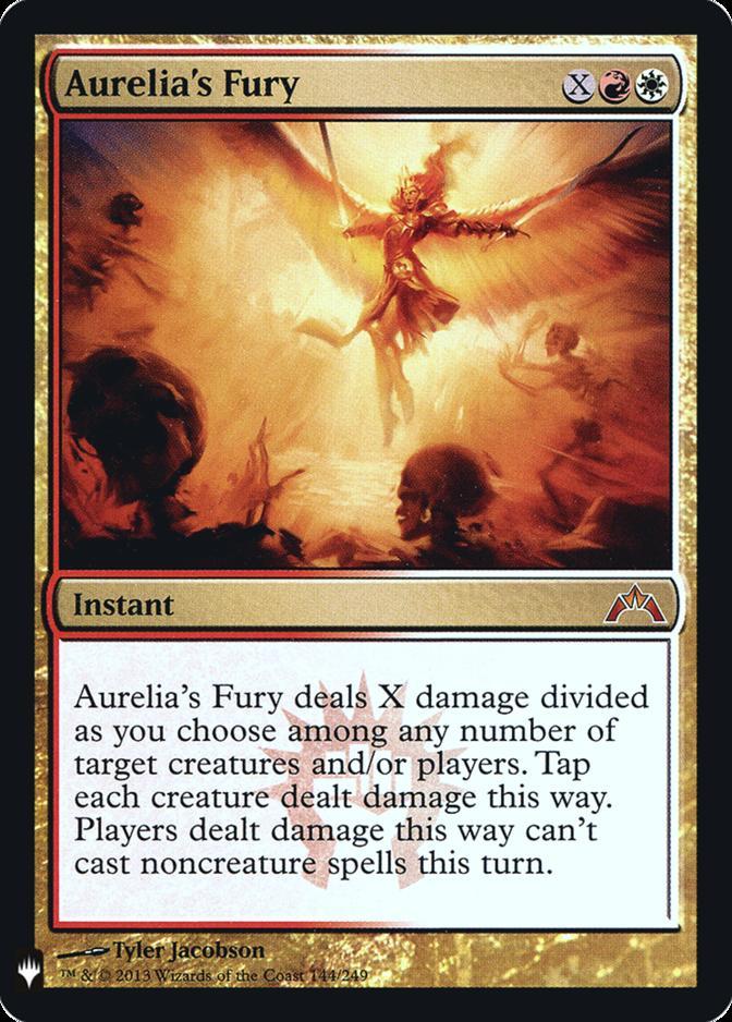 Aurelia's Fury [FMB1] (F)