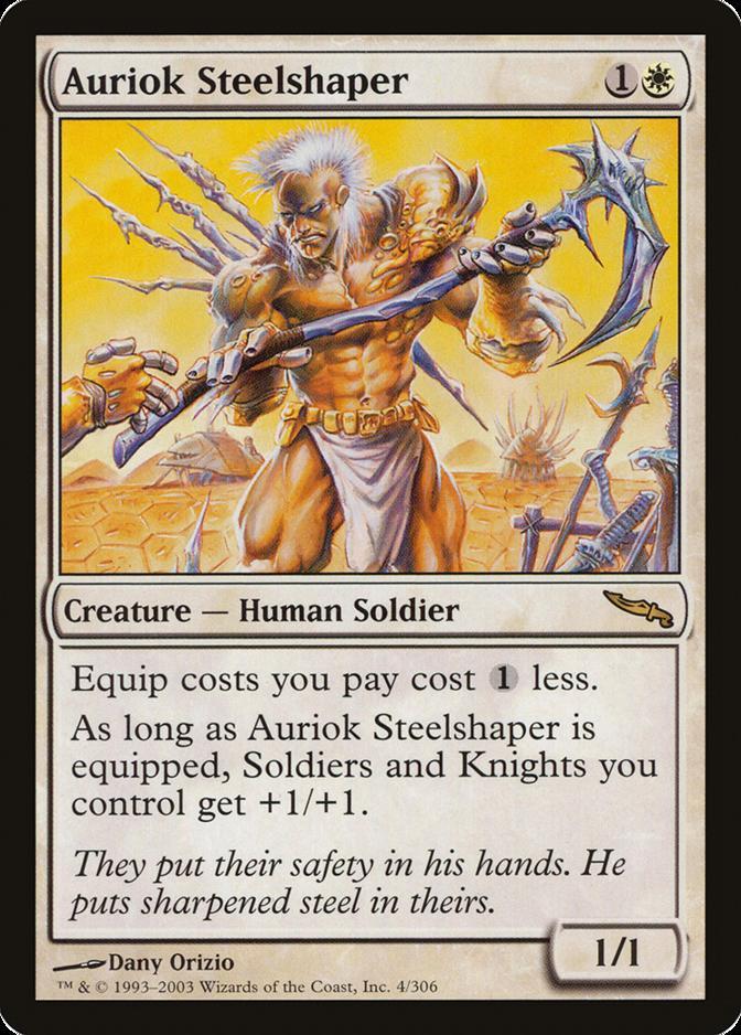 Auriok Steelshaper [MRD]
