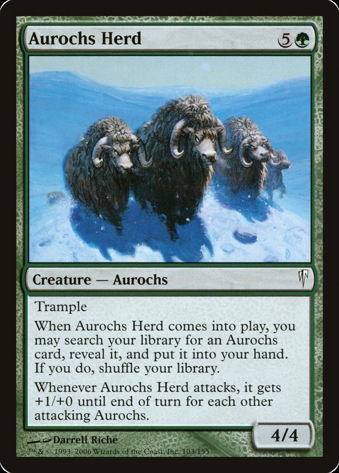 Aurochs Herd [CSP] (F)