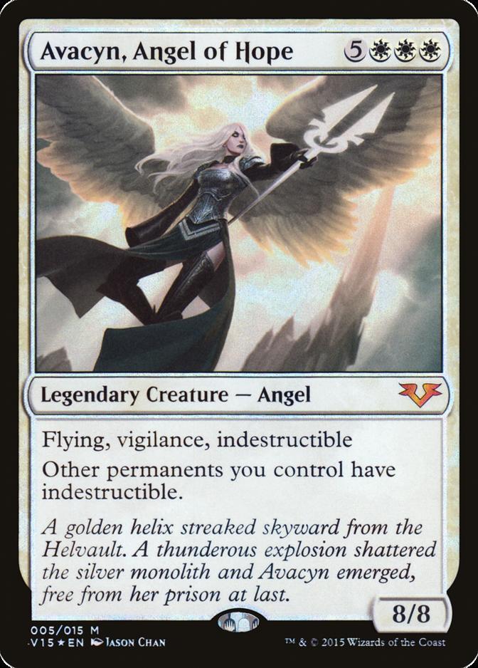 Avacyn, Angel of Hope [V15] (F)