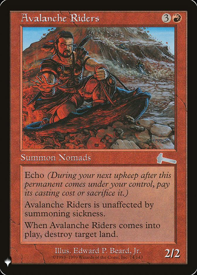 Avalanche Riders [MB1]