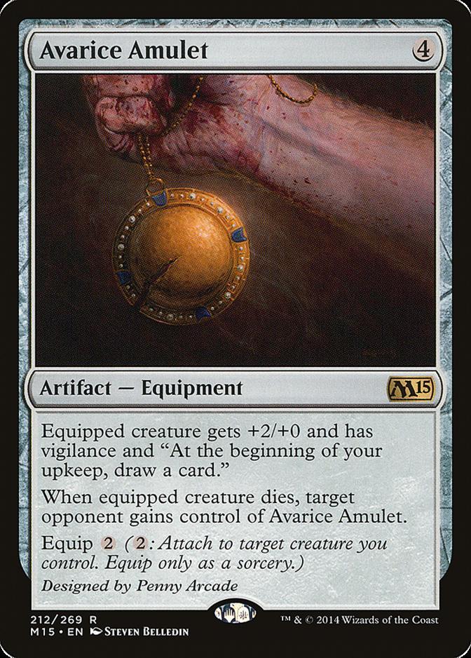 Avarice Amulet [M15]