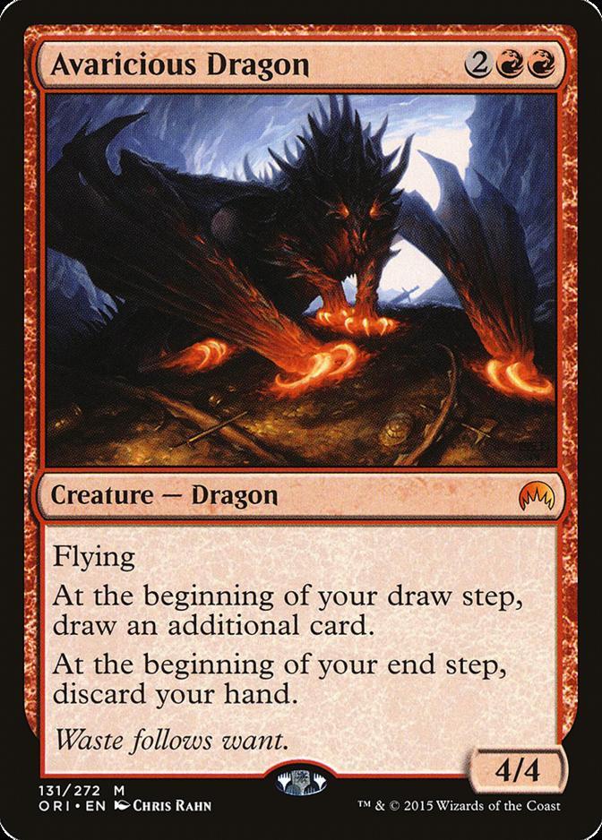 Avaricious Dragon [ORI]