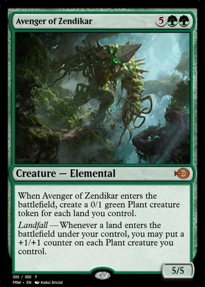 Avenger of Zendikar [PRM]