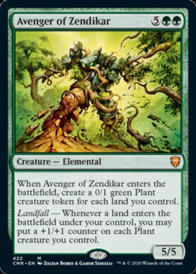 Avenger of Zendikar <precon> [CMR]