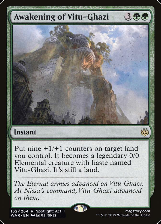Awakening of Vitu-Ghazi [WAR]