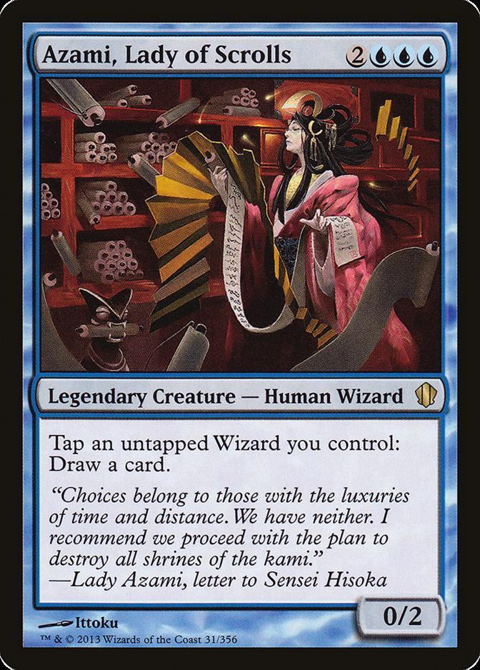 Azami, Lady of Scrolls [C13]