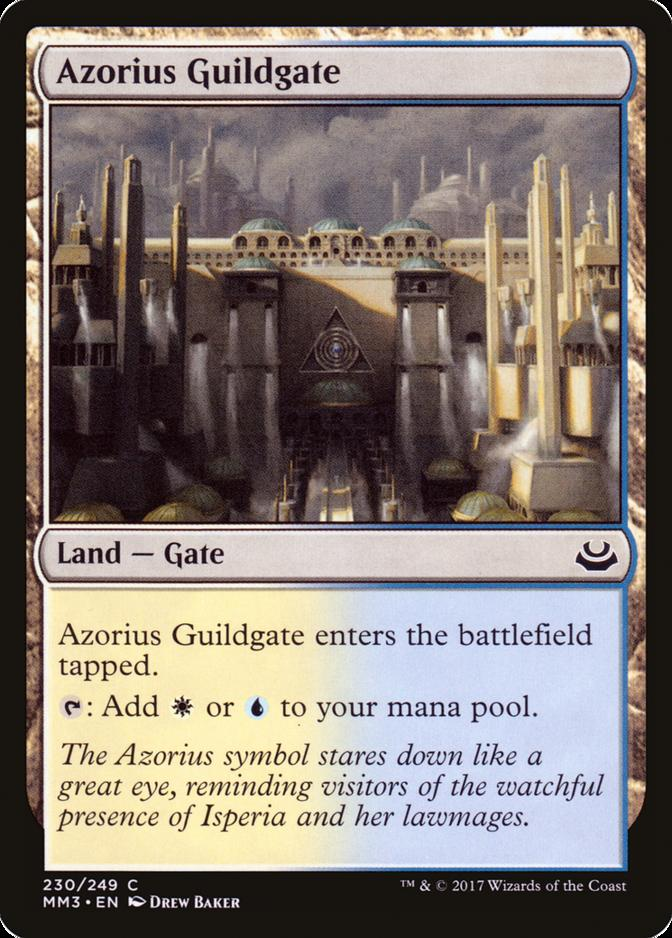 Azorius Guildgate [MM3]
