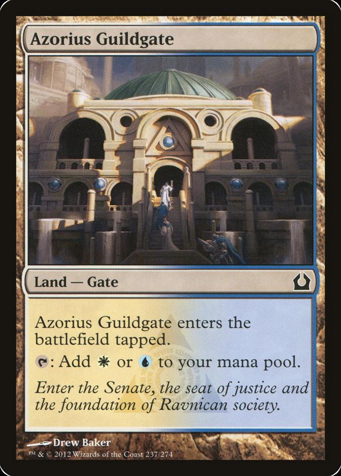 Azorius Guildgate [RTR] (F)