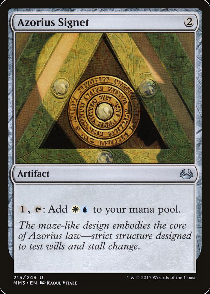 Azorius Signet [MM3]