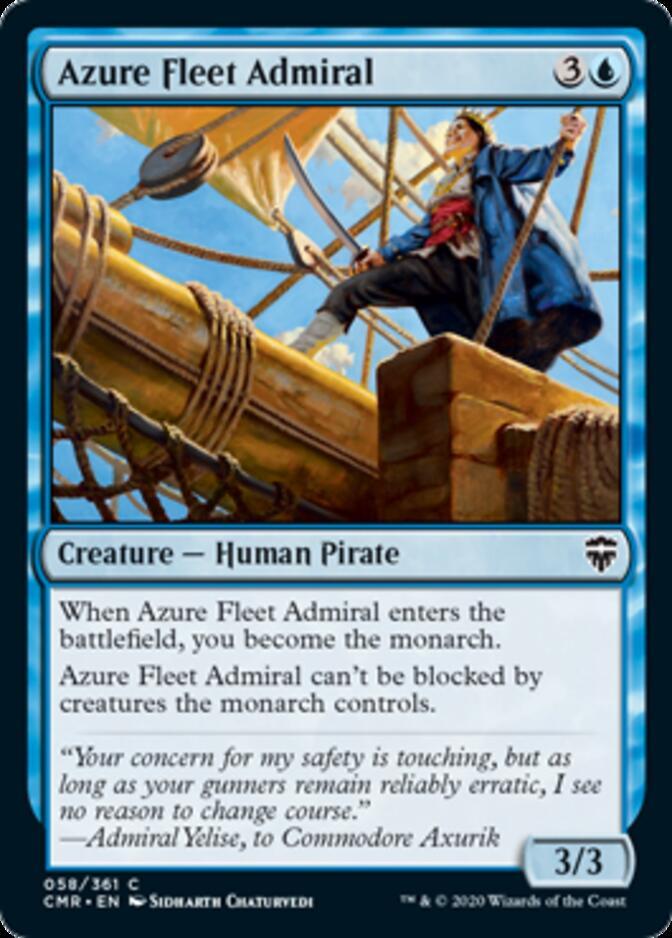 Azure Fleet Admiral [CMR]
