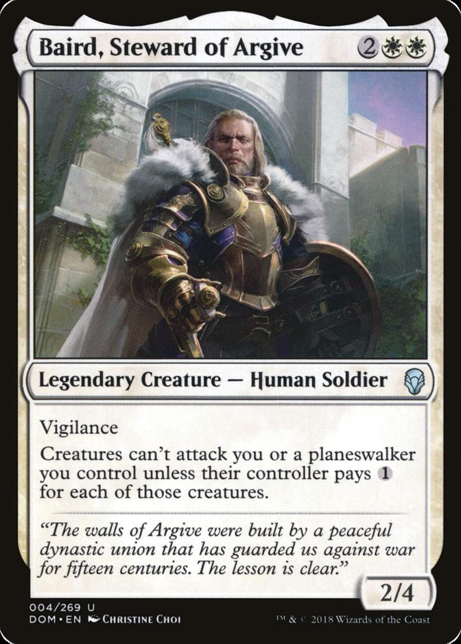 Baird, Steward of Argive [DOM]