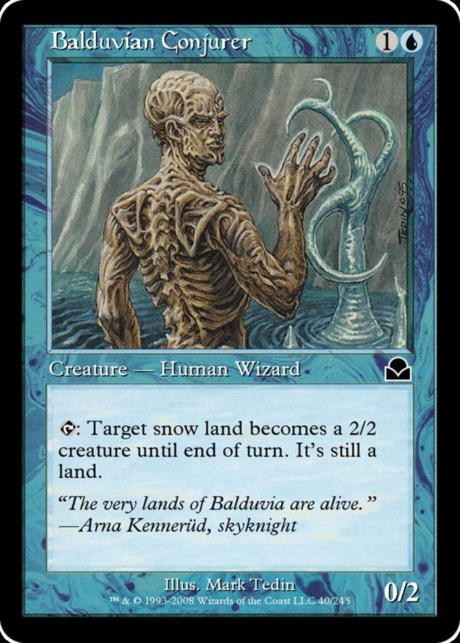 Balduvian Conjurer [ME2] (F)