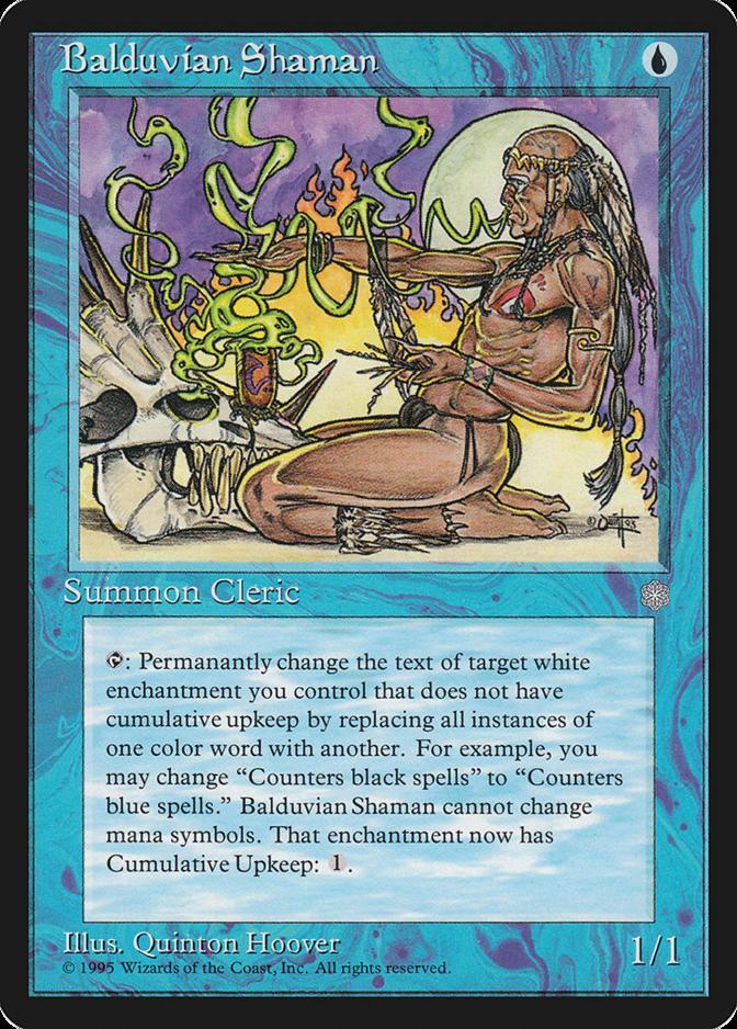 Balduvian Shaman [ICE]