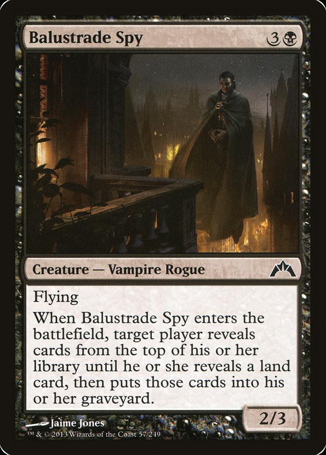 Balustrade Spy [GTC] (F)