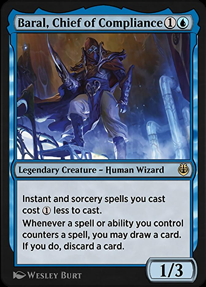 Baral, Chief of Compliance [KLR]