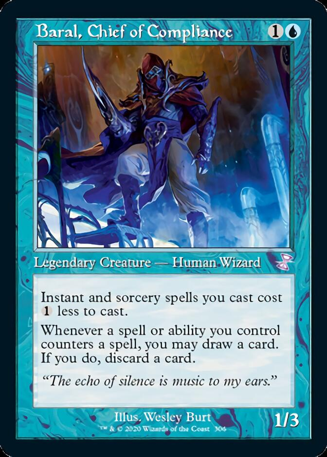 Baral, Chief of Compliance <timeshifted> [TSR]