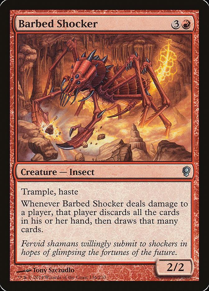 Barbed Shocker [CNS]