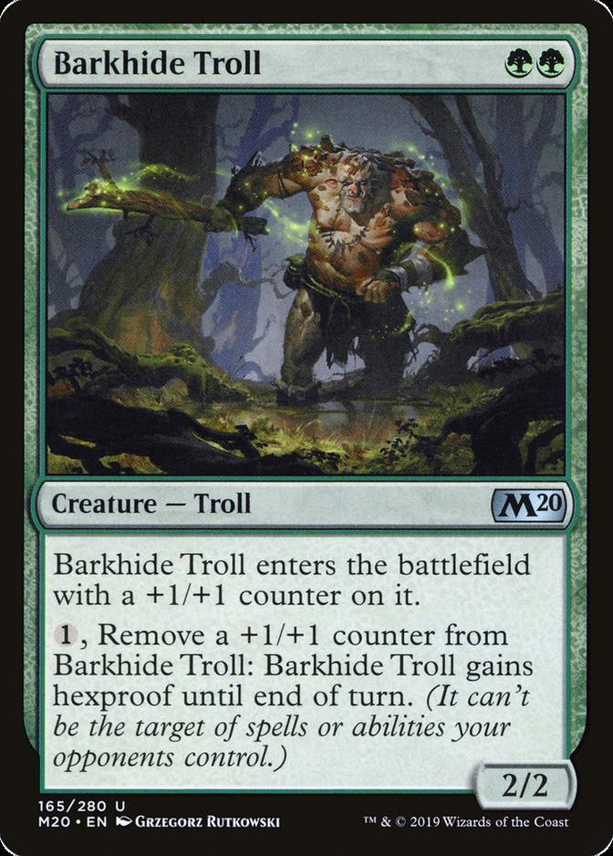 Barkhide Troll [M20]